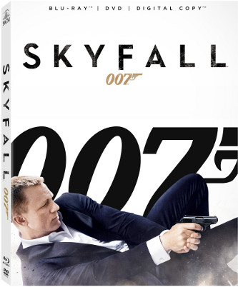Skyfall Blu Ray dvd cover daniel craig james bond rare promo box art cover rare