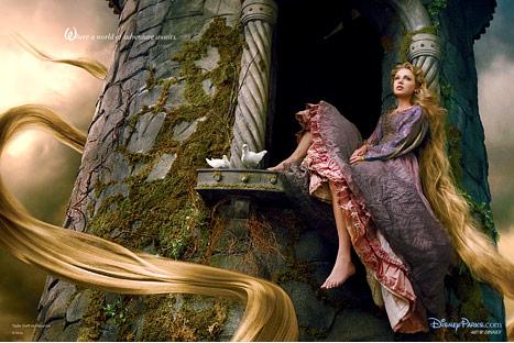taylor swift rapunzel annie leibowitz walt disney resorts photo hot rare1