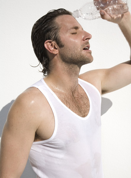 sexy bradley cooper naked hot shirtless abs pecs muscles wet rare promo hot tank top dripping wet rare