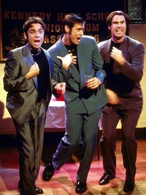 will_ferrell SNL sketch saturday night live rare promo press still hot rare elf  night at the roxbury
