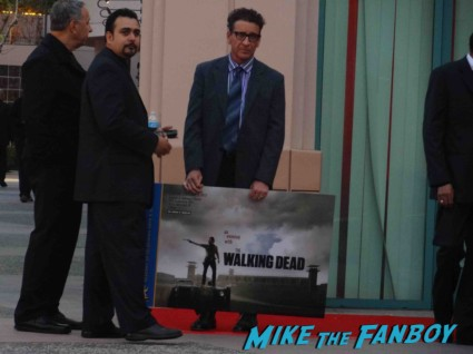An evening with the walking dead at the television academy in north hollywood rare promo hot andrew lincoln