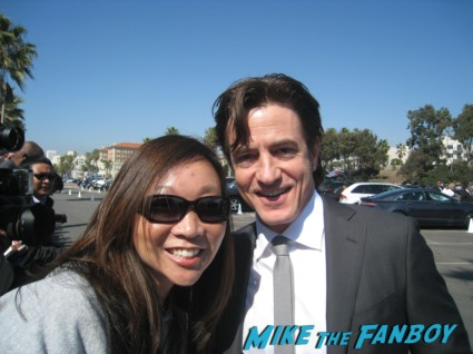 dermot mulroney signing autographs for fans at the spirit awards 2013 rare rushmore signed autograph rare promo