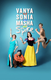 sonia masha and spike rare broadway poster SIGOURNEY WEAVER AND DAVID HYDE PIERCE
