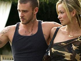 justin timberlake hot sexy muscle shirt alpha dog naked olivia wilde rare promo blonde rare