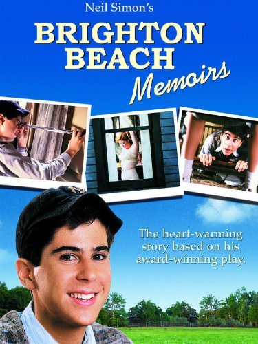 neil simon's brighton beach memoirs dvd cover rare movie poster promo hot rare