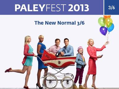 Paleyfest 2013 the new normal cast photo rare hot sexy ellen barking andrew rannells