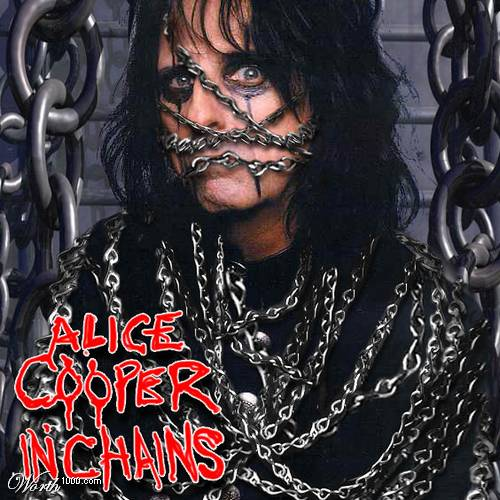 Alice Cooper album cover lp cd rare promo  alice cooper marilyn manson concert photo rare www.pinkylovejoy.com