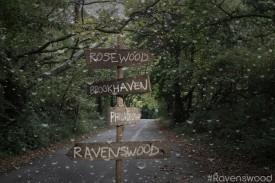 Ravenwood pretty little liars spinoff series rare logo rare promo