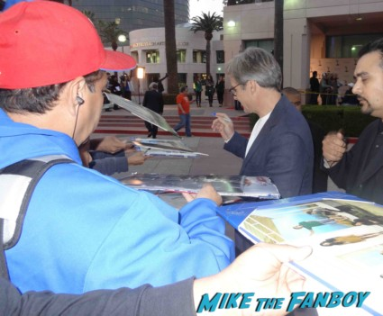 Henry Czerny signing autographs for fans Revenge cast premiere With Emily VanCamp! Gabriel Mann! Henry Czerny! Ashley Madekwe! Nick Wechsler! Joshua Bowman! Christa B. Allen! Autographs! Photos !