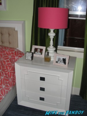Ellie and Andy's bedroom from cougar town set visit ian gomez christa miller rare