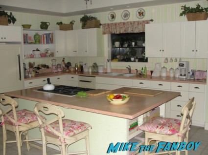 Ellie and Andy's living room from cougar town set visit ian gomez christa miller rare