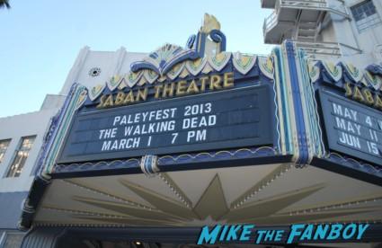 the walking dead paleyfest panel 2013 rare lineup