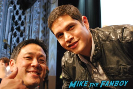 jd pardo signing autographs for fans  at the revolution paleyfest 2013 panel