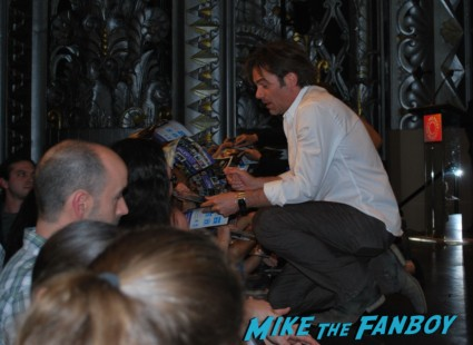billy burke signing autographs for fans  at the revolution paleyfest 2013 panel