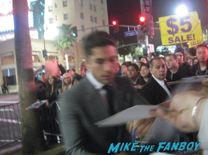 "Luke Bracey signing autographs for fans G.I. Joe: Retaliation Movie Premiere Photo Gallery! A Miracle Happened! Bruce Willis Picked Up A Sharpie! Say Wha!?! With Dwayne ""The Rock"" Johnson! Byung-hun Lee! Luke Bracey! Autographs! Photos! And More! G.I. Joe_March 2013 001"