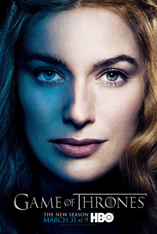 GOT3-Cersei-Poster game of thrones season 3 lena headey-Tyrion-Poster character poster