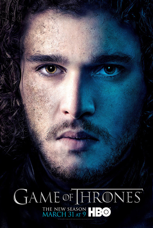 GOT3-Jon snow Poster GOT3- rob poster game of thrones season 3 peter dinklage-Tyrion-Poster character poster