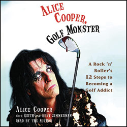 alice cooper rare promo dvd cover art rare photo shoot promo  Golf-Monster