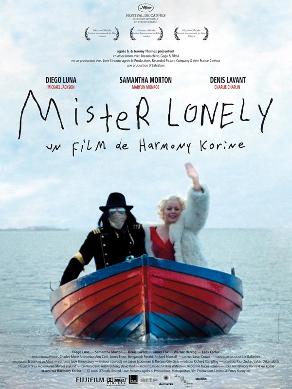HK Mister Lonely Harmony Korine rare one sheet movie poster promo hot one sheet movie poster promo
