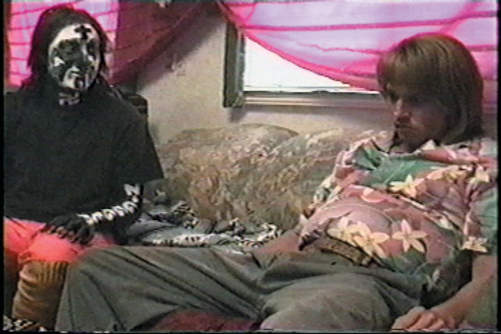 Harmony Korine and Johnny Depp rare promo press still hot sexy depp
