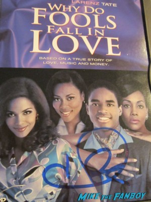 Halle berry signed autograph why do fools fall in love dvd cover rare promo hot photo