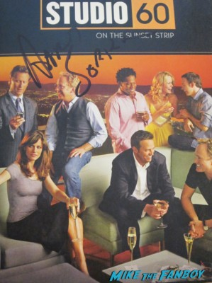 aaron sorkin signed autograph studio 60 on the sunset strip dvd rare