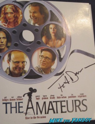 ted danson signed autograph amateurs blu ray dvd rare promo poster hot signature rare sharpie rare promo
