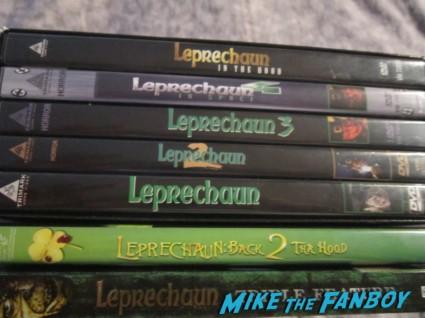leprechaun dvd collection jennifer aniston eprechaun movie poster one sheet rare Warwick Davis leprechaun press promo still rare promo photo hot st. patty's day