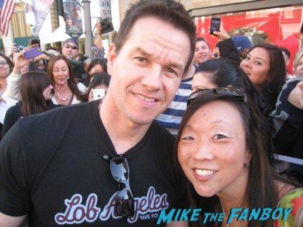 Marky Mark Wahlberg fan photo signing autographs for fans rare hot sexy star shooter pain and gain
