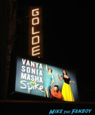 Vanya and Sonia and Masha and Spike broadway new york city marquee sigourney weaver