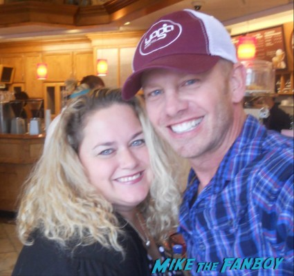 Ian_Ziering Bryan_Austin_Green tori spelling fan photo signing autographs for fans rare promo 90210 star