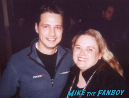 Jason_Priestley fan photo signing autographs for fans rare promo 90210 star