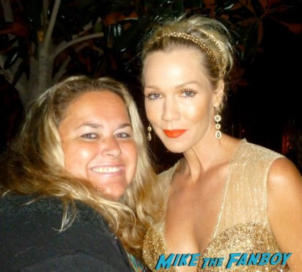 Jennie Garth fan photo signing autographs for fans rare promo 90210 star