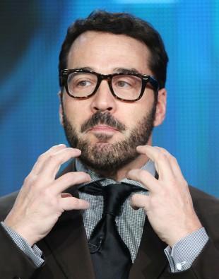 jeremy piven rare hot sexy scruffy beard 2013 Winter TCA Tour - Day 12