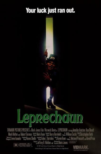 leprechaun movie poster one sheet rare Warwick Davis leprechaun press promo still rare promo photo hot st. patty's day