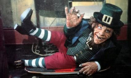 Warwick Davis leprechaun press promo still rare promo photo hot st. patty's day