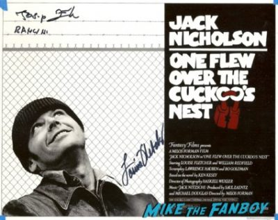 Louise Fletcher signed autograph hot one flew over the cuckoos nest photo