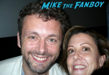 Michael Sheen fan photo signing autographs for fans rare promo hot sexy tron legacy star rare promo