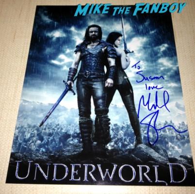 Michael Sheen signed autograph promo Underworld photo vampire hunter rare promo signature