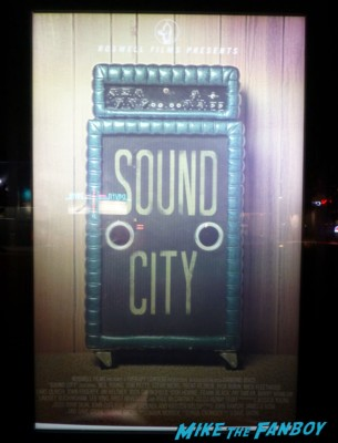 Sound city movie poster q and a rare promo movie poster rare dave grohl