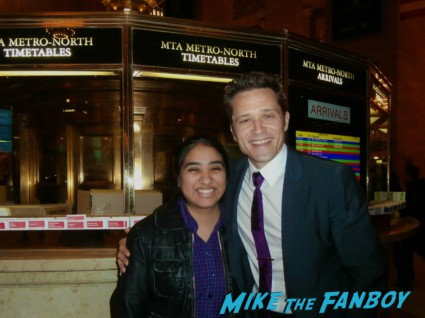 Seamus Dever fan photo signing autographs rare hot sexy castle star abc promo rare