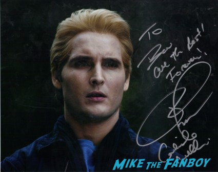 peter facinelli signed autograph photo rare signing autographs for fans at the Nevada Women's Expo for charity