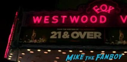 21 and over movie premiere photo westwood villiage rare promo hot skylar aston