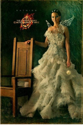 Jennifer Lawrence katniss everdeen capital portrait movie poster promo hunger_games_catching_fire_ver10