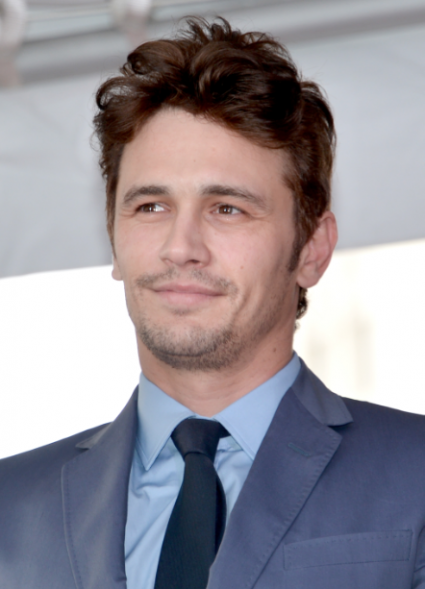 James Franco signing autographs walk of fame star ceremony hollywood boulevard