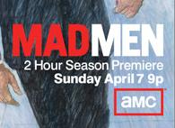 mad men season 6 key art rare promo don draper jon hamm amc season premiere season 6 mad men poster mm6-key-art-350