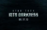 Star trek into darkness logo movie poster new uss enterprise submerged rising alien ocean rare promo hot