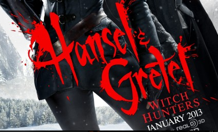 Hansel and Gretel: Witch Hunters Poster logo rare sexy hot jeremy renner rare promo