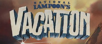 national lampoon's vacation logo rare movie poster one sheet rare beverly D'angelo hot sexy rare european vacation movie poster promo one sheet poster national lampoon