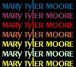 the mary tyler show logo rare promo cast photo
